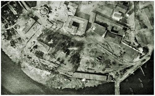 DURAZZO 1916, FOTO AEREA.