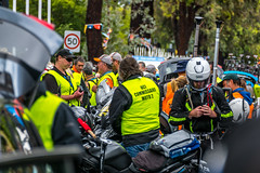 Moto Crews Before Race Start (Serendigity) Tags: tdu tourdownunder 2017 norwood australia race sa southaustralia adelaide stage4 cycling event
