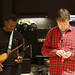 On the road with Béla Fleck's Africa Project; Feb. - Mar. 2010.  2 musicians from Tanzania, 7 from Mali, & 2 from America.