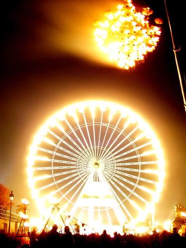 Nuit ardente aux Tuileries