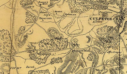 Culpeper on CoL map