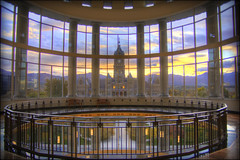 Supreme Sunrise (Todd Keith) Tags: city morning windows sky lake architecture clouds sunrise court photography dawn utah cool october gallery fine salt photographers courthouse soe hdr supreme the outstandingshots of diamondclassphotographer flickrdiamond coolestphotographers excapture tncdcpitw