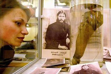 Pene de Rasputin en el Museo del Erotismo
