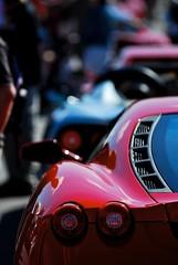 Sculpted F430 (j.hietter) Tags: auto california sun detail car race monterey flickr track ferrari part exotic mans le american porsche carmel series laguna seca lemans partial 2007 lagunaseca alms americanlemansseries