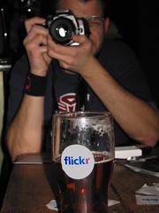 Cameras and Beer (Clive Andrews) Tags: camera beer matt sticker flickr andrews stickr pint clive openhouse cliveandrews fanboy30