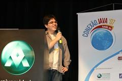 Palestrando no Conexão Java 07
