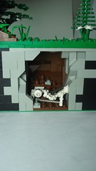 Collapsed Shaft (remyth) Tags: industry mine lego coal coalmine moc cccv