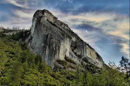 Yosemite Moon Mountain