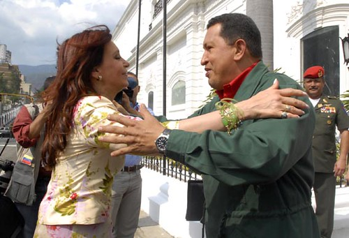 Cristina and Chavez