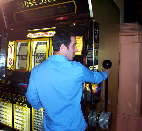 Giant Slot Machine by Evan Hamilton