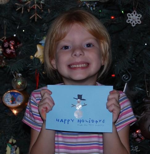 Hope & 2007 Christmas card