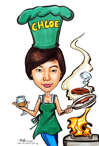 Caricature chef 171207