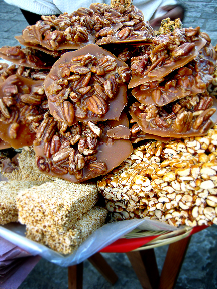 Pecan & Peanut Candy in Oaxaca