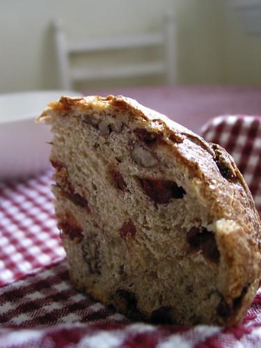 No Knead Bread, pane al cranberry e noci pecan