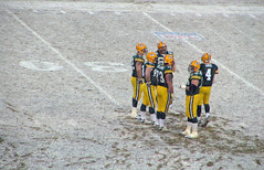 Football in the Snow--NFC Championship Bound!!! (akahodag) Tags: wisconsin football packers greenbay playoffs highfive amateurs lambeau favre greenbaypackers brettfavre abeauty mywinners 5for2 amateurshighfive citrit invitedphotosonly