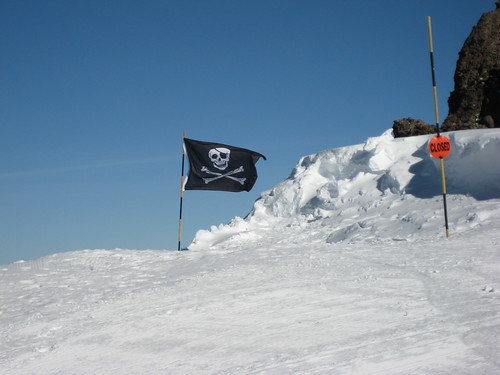 Pirate Flag at Kirkwood