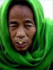 A Lady From Kaluk Market (Sukanto Debnath) Tags: portrait india west green lady nose sony ring rod ethnic wrinkles f828 soe sikkim nepali sikkimese debnath golddragon mywinners abigfave diamondclassphotographer megashot ysplix theunforgettablepictures sukanto sukantodebnath betterthangood kaluk