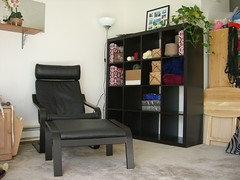 Living room - sunshiny!
