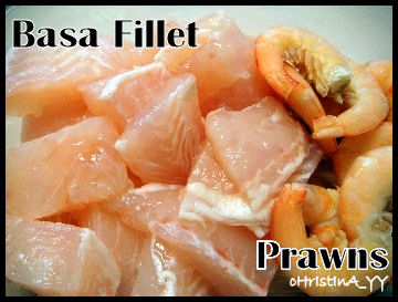 Basa Freshwater Fillet Vs Tiger Prawns