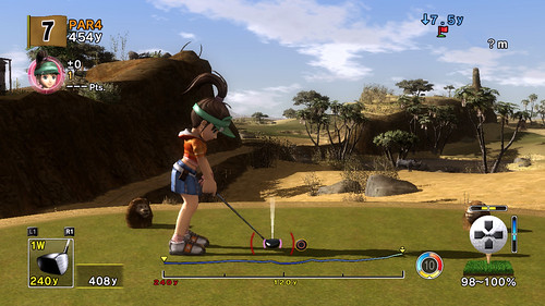 Hot Shots Golf Advanced Shot Mode 1