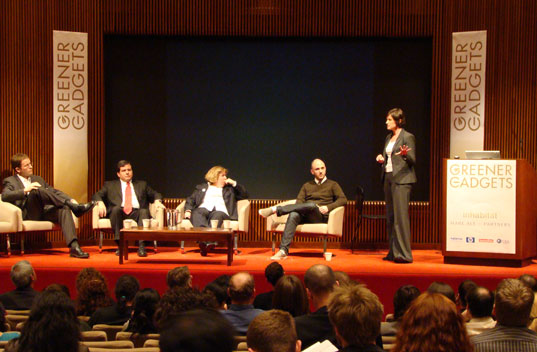 Energy Efficiency Panel: Valerie Caser, Ryan Block, Greg Chason, Douglas Johnson, Allyson Klein
