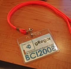 gRegor badge