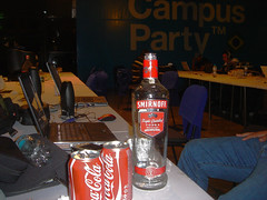 Vodka na campus party