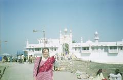 Whole view (Jennifer Kumar) Tags: muslim islam tomb bombay mumbai negativescan india1998