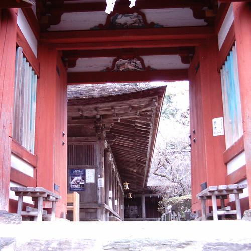 Entrance of Yoshino Mikumari-jinja [ Mt. Yoshino ]