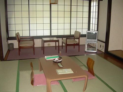 Habitación del ryokan