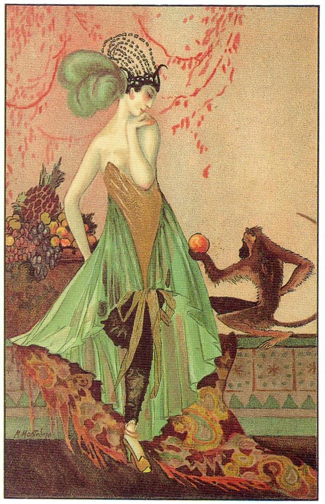 art deco postcard 6  1920s