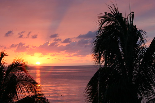 Photo of a Jamaican Sunset