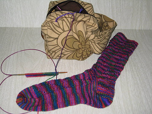 Swap sock - 1 down 1 to go
