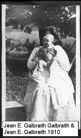 Great-Aunt Jean with her daughter
