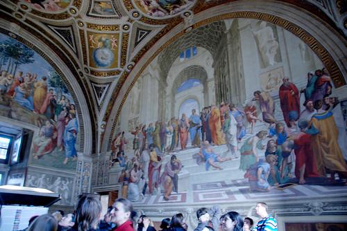 The School of Athens , 1509-11, Raphael (1483-1520 Italian) . education,