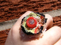 Strawberry Fields Forever Fingernest Ring