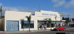 Mandic Motors, 424 Main St. (Trader Chris) Tags: automotive orangecounty huntingtonbeach orangecountycaliforniahistory