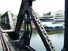 Bridge over river Kwai (jackandsheldon) Tags: bridge river thailand kwai