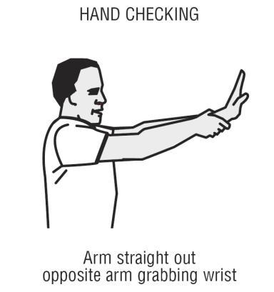 handchecking