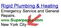 Yahoo Search Ads Show Location