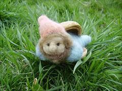 Felt  Elf My dear (Rjabinnik and Rounien) Tags: wool hand natural felting decorative felt made fairy fantasy needlecraft