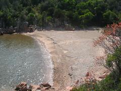 Visite de la cala d'U Marescu et de sa plage