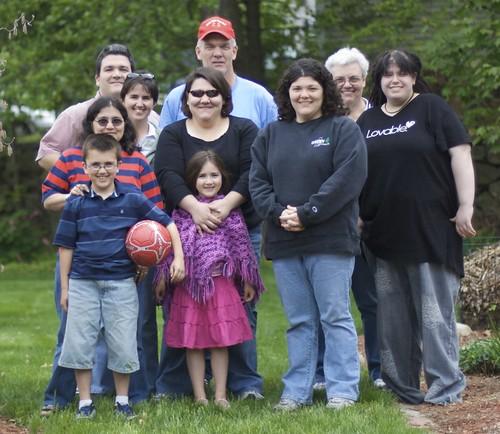 Chapman Family Portrait - May 18, 2008