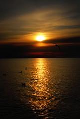 Mentor Headlands Sunset