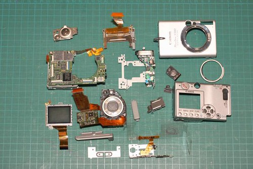 PowerShot S500 Deconstructed