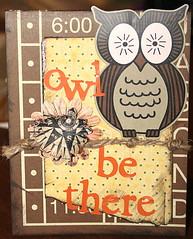 Card - Owl be there