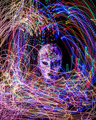 Mardi Gras (lclower19) Tags: mask light mardigras lightpainting 0952 522017 odt colorful