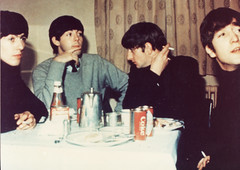 The Beatles (Hannhell) Tags: history john table paul george culture coke pop 1960s johnlennon ringostarr ringo thebeatles paulmccartney georgeharrison beatlemania