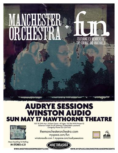 Manchester Orchesta at Hawthorne theater jpg