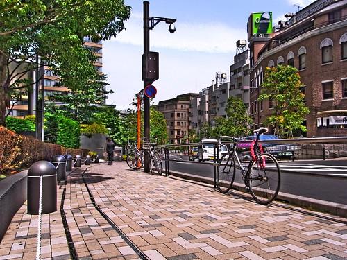 Road on side of Tokyo Midtown